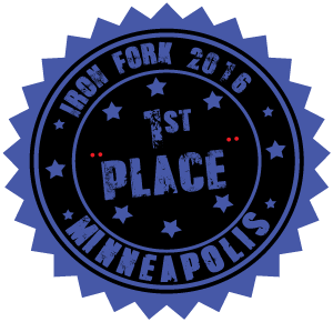 Iron Fork First Place Award
